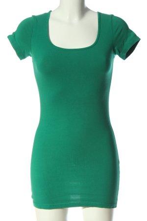 Vero Moda Longshirt grün Casual-Look
