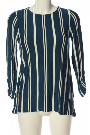 Vero Moda Longshirt Streifenmuster Casual-Look