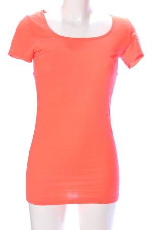 Vero Moda Longshirt hellorange Casual-Look