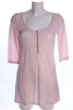 Vero Moda Longshirt pink Casual-Look