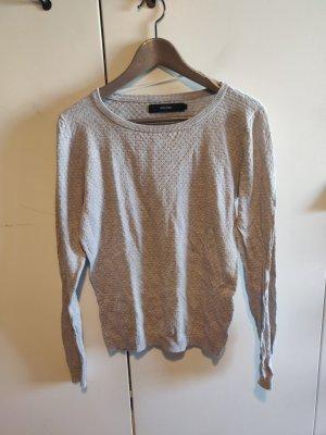 Vero Moda Pull en crochet gris clair