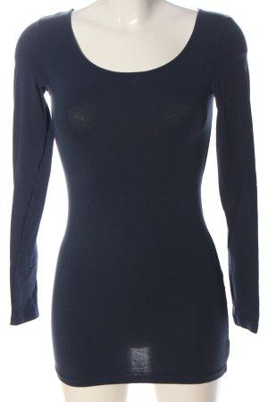 Vero Moda Longsleeve blau Casual-Look
