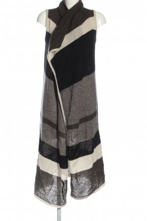 Vero Moda Long Knitted Vest black-light grey flecked casual look