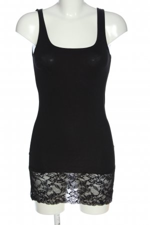 Vero Moda Długi top czarny W stylu casual
