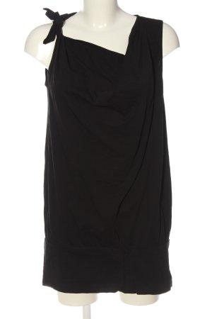 Vero Moda Długi top czarny Imprezowy wygląd
