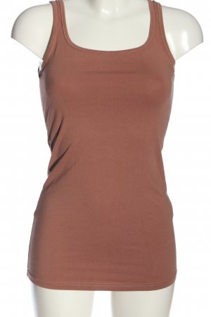 Vero Moda Top long brun style décontracté