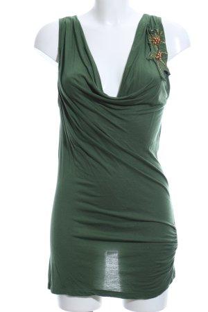 Vero Moda Longtop grün Elegant
