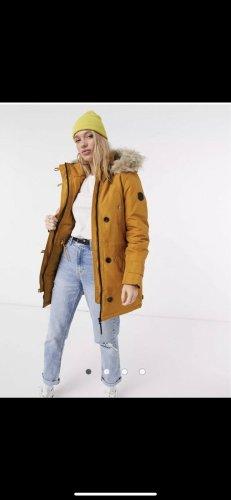 Vero Moda Winter Coat gold orange