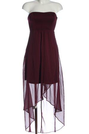 Vero Moda Maxikleid rot-lila extravaganter Stil