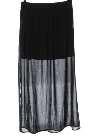 Vero Moda Falda larga negro look casual