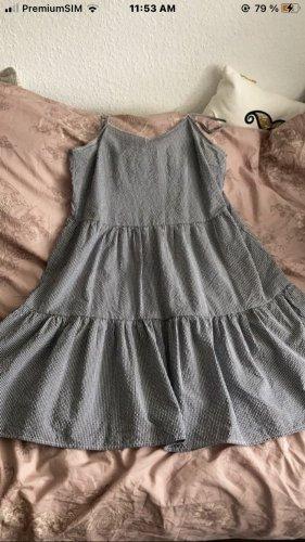 Vero Moda Sukienka typu babydoll błękitny-biały