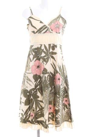 Vero Moda Midikleid Blumenmuster Casual-Look