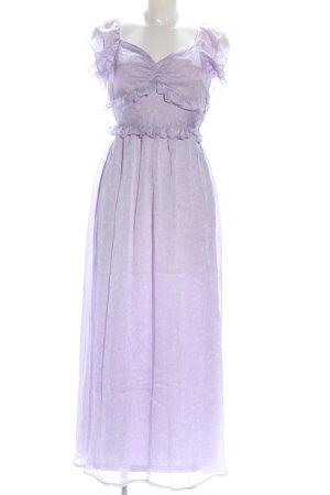Vero Moda Blusenkleid lila Casual-Look