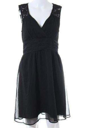 Vero Moda Midikleid schwarz Elegant