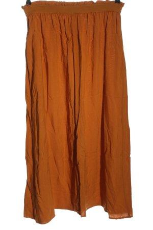 Vero Moda Midi Skirt light orange casual look