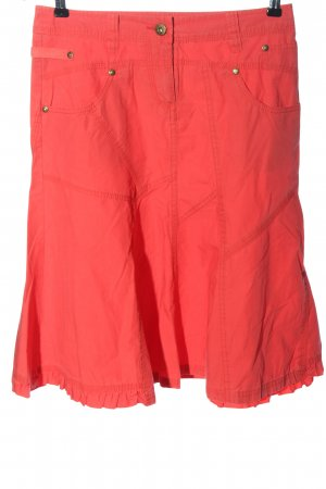 Vero Moda Glockenrock rot Casual-Look