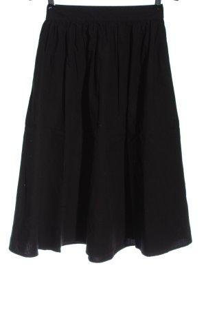 Vero Moda Midirock schwarz Elegant