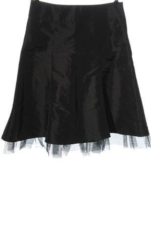 Vero Moda Tafzijde rok zwart elegant