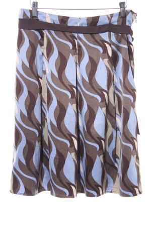 Vero Moda Midirock abstraktes Muster extravaganter Stil