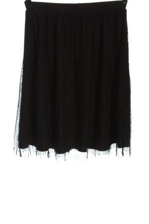 Vero Moda Jupe taille haute noir style décontracté