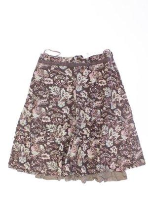 Vero Moda Midirock Größe 34 braun aus Baumwolle