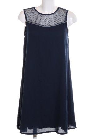 Vero Moda Minikleid blau Punktemuster Elegant