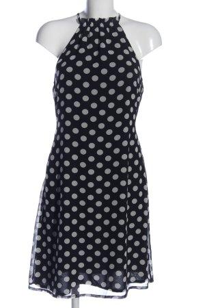 Vero Moda Minikleid schwarz-weiß Allover-Druck Casual-Look