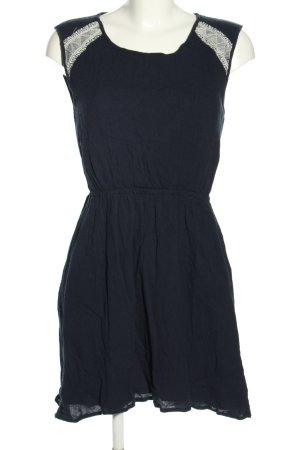 Vero Moda Minikleid schwarz-weiß Casual-Look