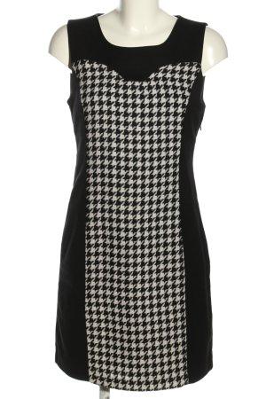 Vero Moda Minikleid schwarz-weiß grafisches Muster Business-Look