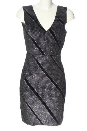 Vero Moda Minikleid schwarz Streifenmuster Elegant