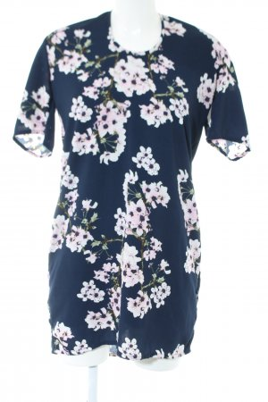 Vero Moda Minikleid blau Allover-Druck Business-Look