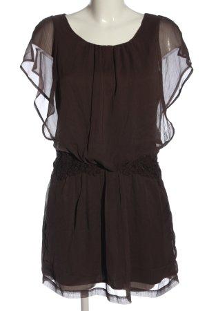 Vero Moda Minikleid braun Casual-Look