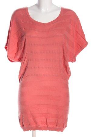 Vero Moda Minikleid pink Streifenmuster Casual-Look