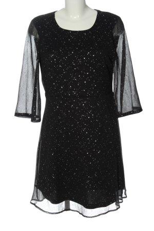 Vero Moda Minikleid schwarz-weiß grafisches Muster Elegant