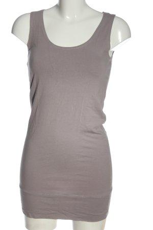 Vero Moda Minikleid hellgrau Casual-Look