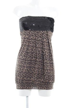 Vero Moda Minikleid Animalmuster Casual-Look