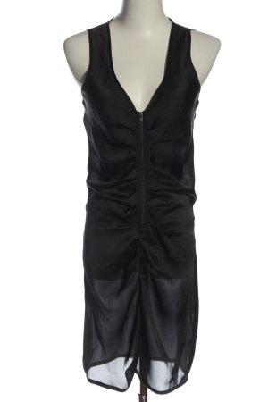 Vero Moda Blusenkleid schwarz Elegant