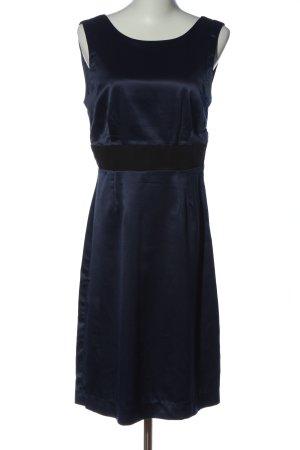 Vero Moda Minikleid blau Glanz-Optik