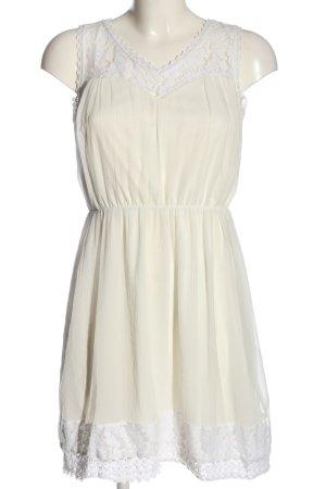 Vero Moda Minikleid weiß Casual-Look