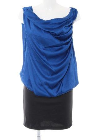 Vero Moda Minikleid blau-schwarz Elegant