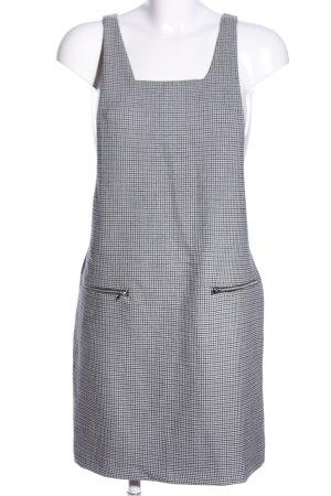 Vero Moda Minikleid schwarz-weiß Allover-Druck Business-Look