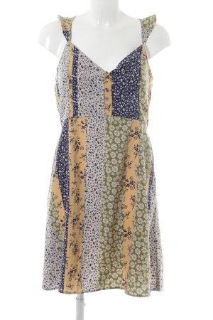 Vero Moda Minikleid florales Muster Romantik-Look
