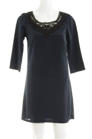 Vero Moda Minikleid schwarz-dunkelblau Elegant
