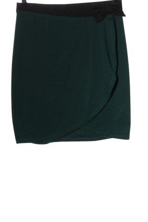 Vero Moda Minirock grün Casual-Look