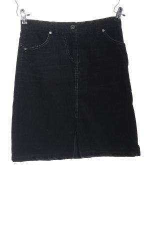 Vero Moda Minirock schwarz Casual-Look