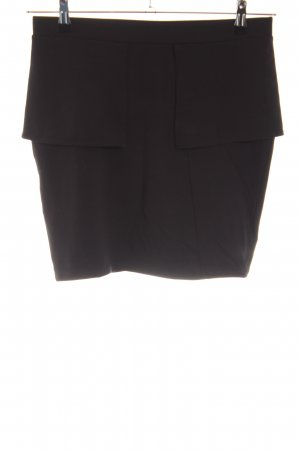Vero Moda Minirock schwarz Business-Look
