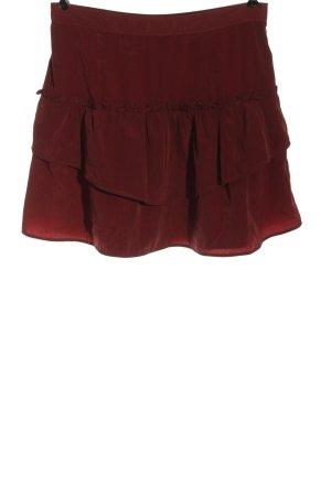 Vero Moda Minirock rot Casual-Look