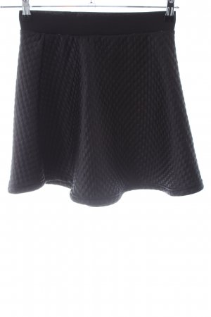 Vero Moda Minirock schwarz Allover-Druck Business-Look
