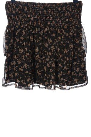 Vero Moda Miniskirt black-nude polyester