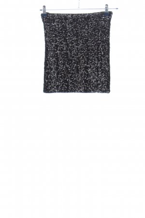 Vero Moda Minirock schwarz-weiß Allover-Druck Casual-Look